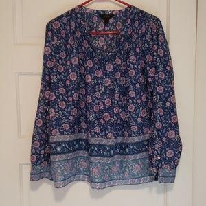 JCrew Wms12 Lightweight Cotton Popover Shirt